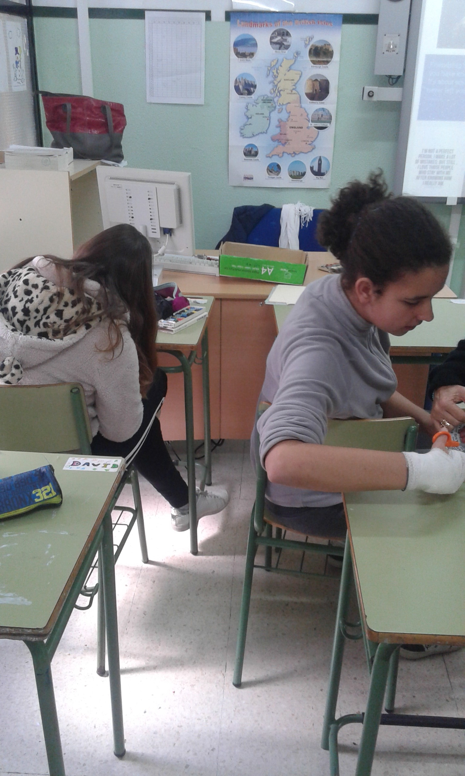 "Taller de ""Bookmarks with quotations in English"" 5"